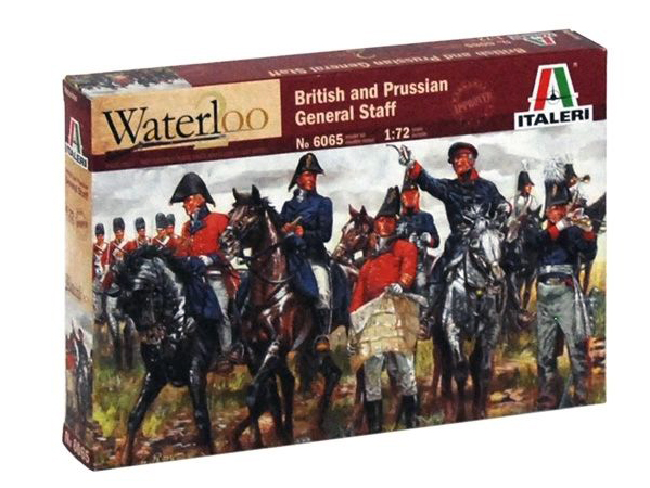 Napoleonic British & Prussian Allied General Staff - Re-release